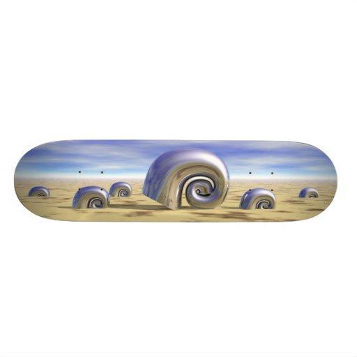 Metal Shells - Retro Skate Board Decks