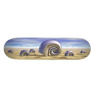 Metal Shells - Retro Skateboard Deck
