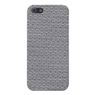Metal: Silver Chainmaille iPhone SE/5/5s Cover