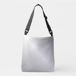 Metal Silver Look Tote Bag