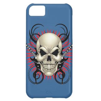 Metal Skull and Guitars design iPhone 5C Cover