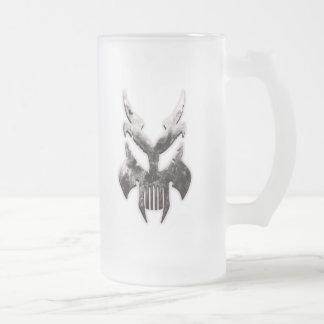 Metal Skull Mug