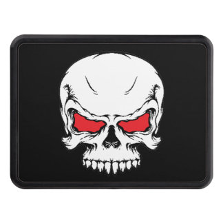 Metal Skull Tow Hitch Hitch Cover