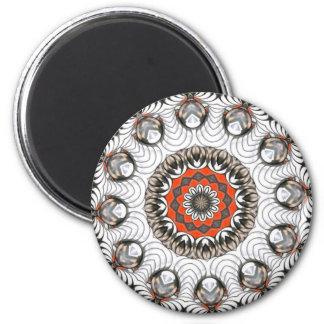 Metal Spirals Magnet