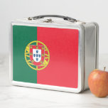 """Metal Stainless Lunchbox with Portugal flag<br><div class=""""desc"""">Elegant Metal Stainless Lunchbox with flag of Portugal. This product its customizable. Adorable and durable, our metal lunch box is perfect for those in love with the classic style. Customize the front and back with images, text and designs for a fabulously fun lunch time for your kids or yourself! Dimensions:...</div>"""