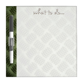 Metal Stainless Steel Checkerboard Dry-Erase Board