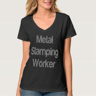 Metal Stamping Worker Extraordinaire Tee Shirt
