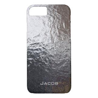 Metal Steel Chrome Rock iPhone 7 Case