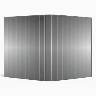 metal stripes 3 ring binder