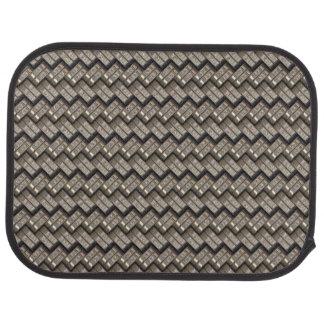 metal struggles texture car floor mat
