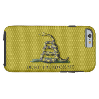 Metal Style Look Dont Tread On Me Gadsen Flag Tough iPhone 6 Case