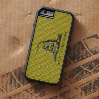 Metal Style Look Dont Tread On Me Gadsen Flag Tough Xtreme iPhone 6 Case