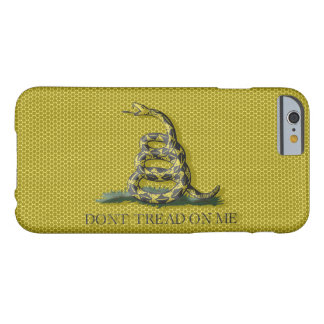 Metal Style Look Dont Tread On Me Gadsen Flag Barely There iPhone 6 Case