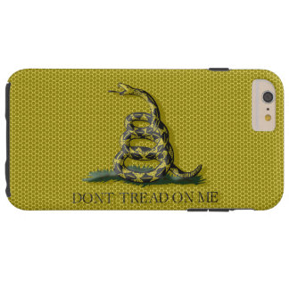 Metal Style Look Dont Tread On Me Gadsen Flag Tough iPhone 6 Plus Case