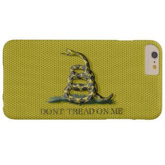 Metal Style Look Dont Tread On Me Gadsen Flag Barely There iPhone 6 Plus Case