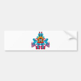 Metal Suit Macbine Bumper Sticker