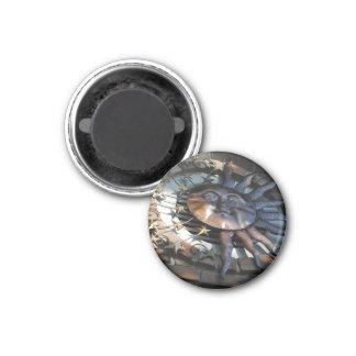 Metal Sun Imán Redondo 3 Cm