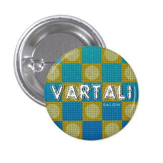 Metal Texture Vartali Round Button