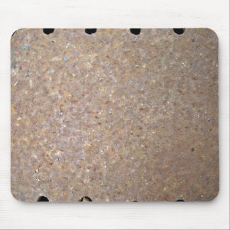 Metal Texture with Holes Mouse Pad