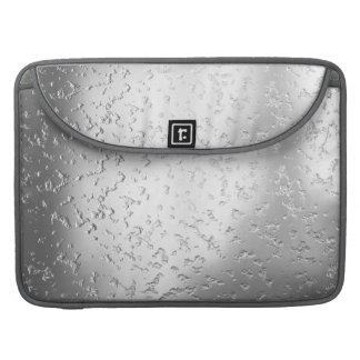 Metal texturizado falsa plata 015 fundas macbook pro