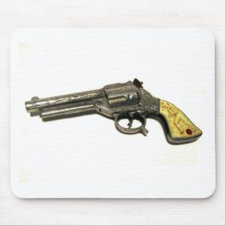 Metal Toy Gun Mouse Pad