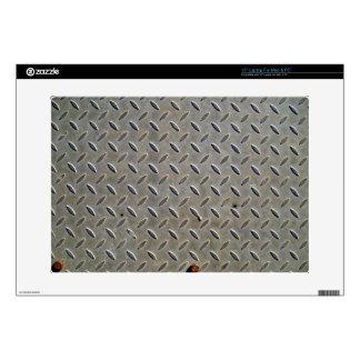 """Metal Tread Texture 15"""" Laptop Decals"""