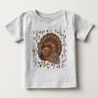 Metal Turkey Baby T-Shirt