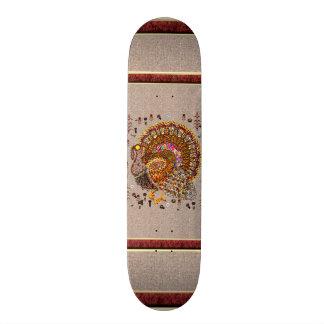 Metal Turkey Skateboard Deck