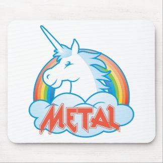 metal-unicorn mouse pad