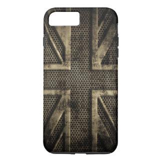 Metal Union Jack del Grunge Funda iPhone 7 Plus