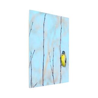 Metal Wall Art - Yellow Finch