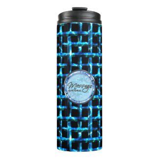 Metal Weave 3 Options Thermal Tumbler