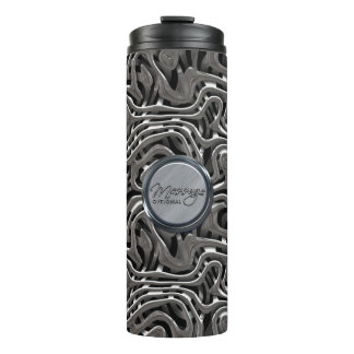 Metal Weave 4 Options Thermal Tumbler