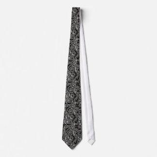 Metal Weave 4 Tie
