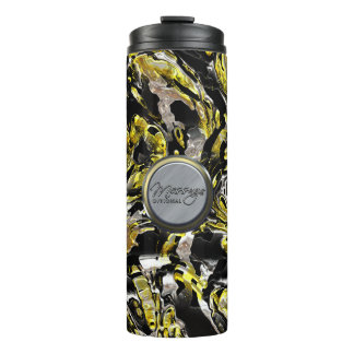Metal Weave Art 1 Options Thermal Tumbler
