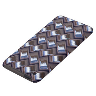 metal Weave blue (I) Barely There iPod Cover