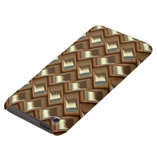metal Weave golden (I) Barely There iPod Cover