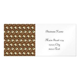 metal Weave golden (I) Magnetic Card