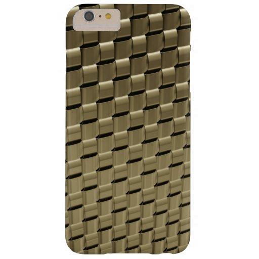 Metal Weave iPhone 6 Plus Case Titanium