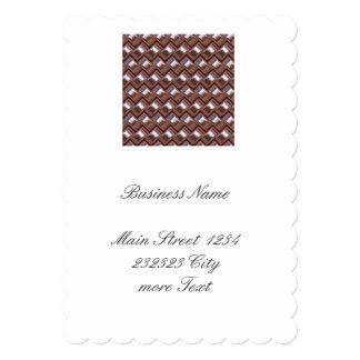 metal Weave pink (I) Card