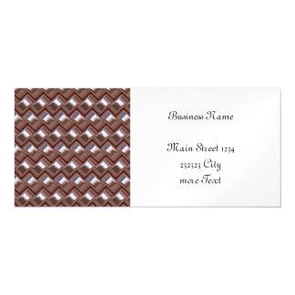 metal Weave pink (I) Magnetic Card