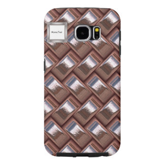 metal Weave pink (I) Samsung Galaxy S6 Case