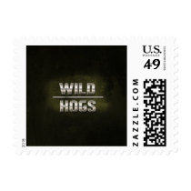 Metal Wild Hogs Text Postage