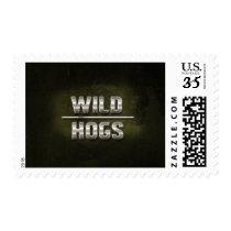 Metal Wild Hogs Text Postage