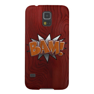 Metal-Wood-BAM! Galaxy S5 Cases
