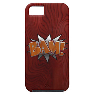 Metal-Wood-BAM! Case For iPhone 5/5S