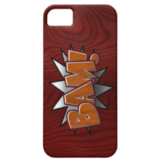 Metal-Wood-BAM! iPhone 5/5S Cover