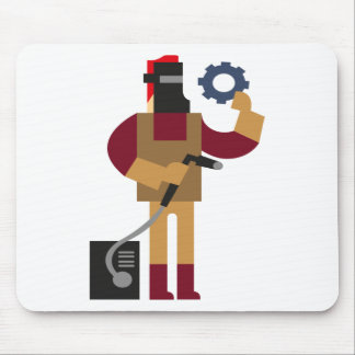 Metal Worker Mouse Pad