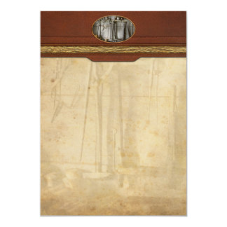 Metal Worker - Tools of a tin smith 5x7 Paper Invitation Card