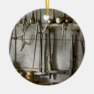 Metal Worker - Tools of a tin smith Ornament